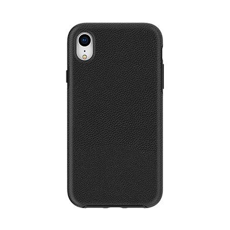 Picture of Supreme Leather Case for iPhone XR, Black