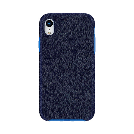 Picture of Supreme Leather Case for iPhone XR, Dark Blue