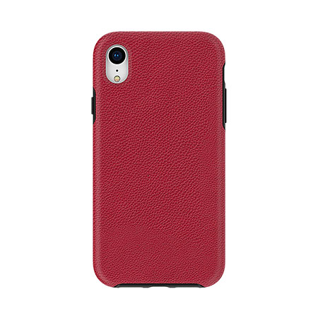 Picture of Supreme Leather Case for iPhone XR, Red