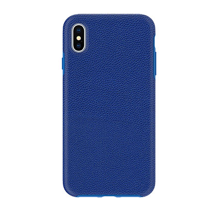 Picture of Supreme Leather Case for iPhone Xs Max, Blue
