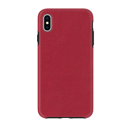 Picture of Supreme Leather Case for iPhone Xs Max, Red