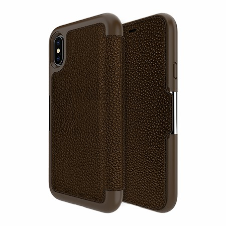 Picture of Sparta Folio Case for iPhone X/Xs, Brown