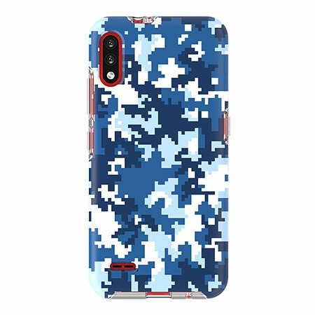 Picture of Supreme Series for LG K22, Blue Pixel Camo