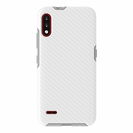 Picture of Supreme Series for LG K22, White Carbon Fiber