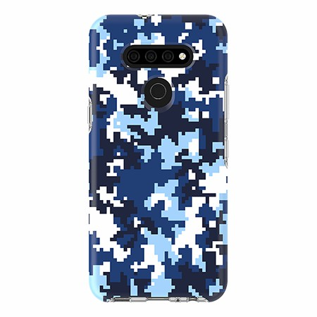 Picture of Supreme Series for LG K51, Blue Pixel Camo