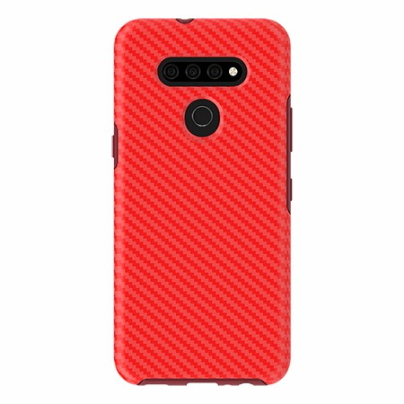 Picture of Supreme Series for LG K51, Red Carbon Fiber
