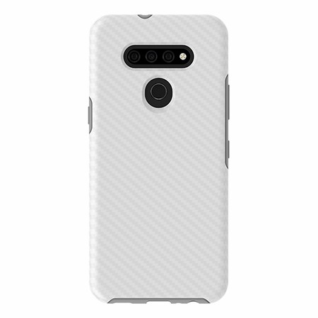Picture of Supreme Series for LG K51, White Carbon Fiber