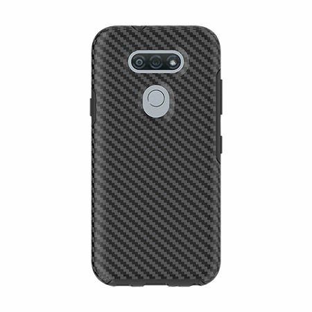 Picture of Supreme Series Case for LG Tribute Monarch, Black Carbon Fiber