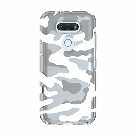 Picture of Supreme Series Case for LG Tribute Monarch, Clear Camo