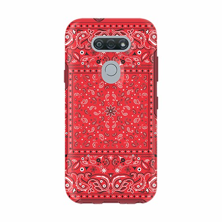 Picture of Supreme Series Case for LG Tribute Monarch, Red Set