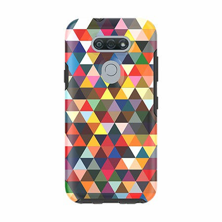 Picture of Supreme Series Case for LG Tribute Monarch, Triangle Spectrum