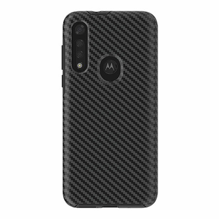 Picture of Supreme Series for Moto G8 Fast, Black Carbon Fiber