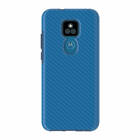 Picture of Supreme Series for Moto G Play, Blue Carbon Fiber