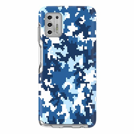 Picture of Supreme Series for Moto G Stylus, Blue Pixel Camo