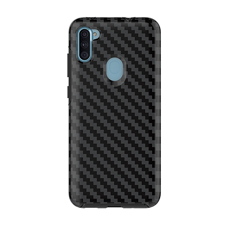 Picture of Supreme Series Case for Samsung A11, Black Carbon Fiber