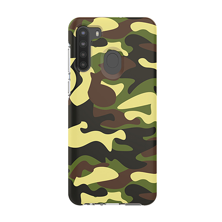 Picture of Supreme Series Case for Samsung A21, Green Camo