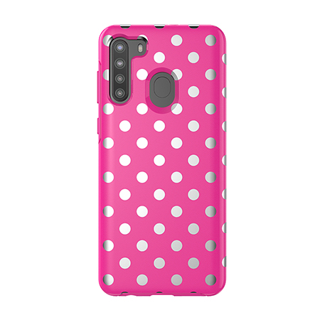 Picture of Supreme Series Case for Samsung A21, Polka Dot Pink