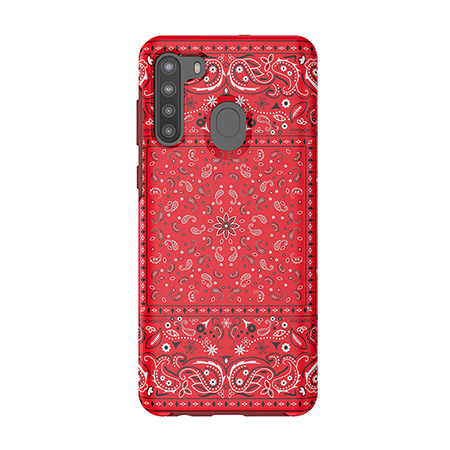 Picture of Supreme Series Case for Samsung A21, Red Set