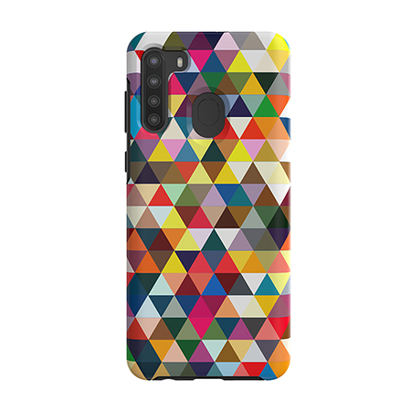 Picture of Supreme Series Case for Samsung A21, Triangle Spectrum