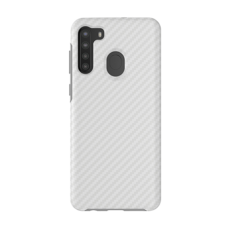 Picture of Supreme Series Case for Samsung A21, White Carbon Fiber