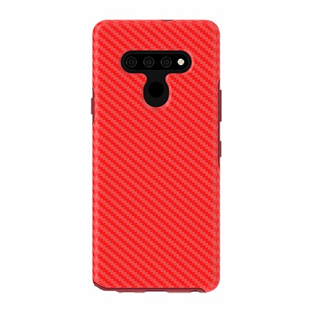 Picture of Supreme Series for LG Stylo 6, Red Carbon Fiber