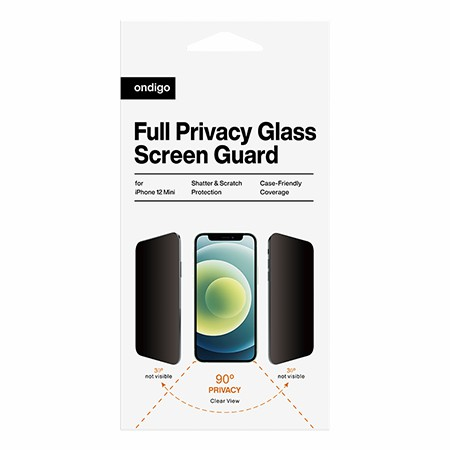 Picture of Full Privacy Glass Screen Guard for iPhone 12 Mini