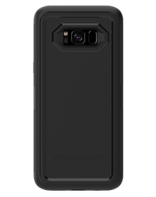 Picture of Samsung Galaxy S8 B-Tact Case, Black and Black (Boost Mobile)