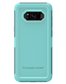 Picture of Samsung Galaxy S8 B-Tact Case, Teal and Dark Green (Boost Mobile)