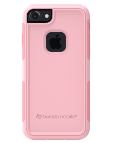 Picture of Apple iPhone 7 & 8 B-Tact Case, Rose Pink & Pink (Boost Mobile)