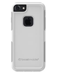 Picture of Apple iPhone 7 & 8 B-Tact Case, White & Grey (Boost Mobile)