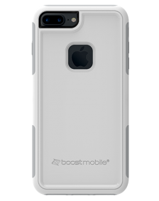 Picture of Apple iPhone 7 Plus B-Tact Case, White & Grey (Boost Mobile)