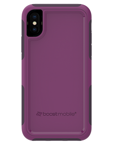 Picture of B-Tact Case for Apple iPhone X/XS, Purple & Dark Purple