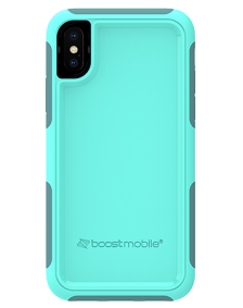 Picture of B-Tact Case for Apple iPhone X/XS, Teal & Dark Green