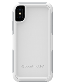 Picture of B-Tact Case for Apple iPhone X/XS, White & Grey