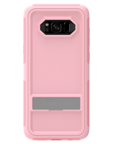 Picture of Samsung Galaxy S8 B-Tact Case with Kickstand, Rose Pink and Pink (Boost Mobile)