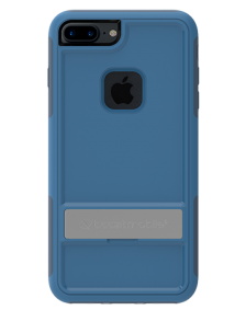 Picture of Apple iPhone 7 Plus B-Tact Case with Kickstand, Blue & Dark Blue (Boost Mobile)