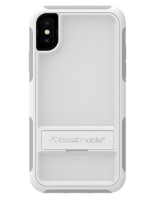 Picture of B-Tact Case w kickstand for Apple iPhone X/XS, White & Grey