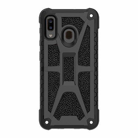 Picture of Supreme Armor Case for Samsung A20, Black