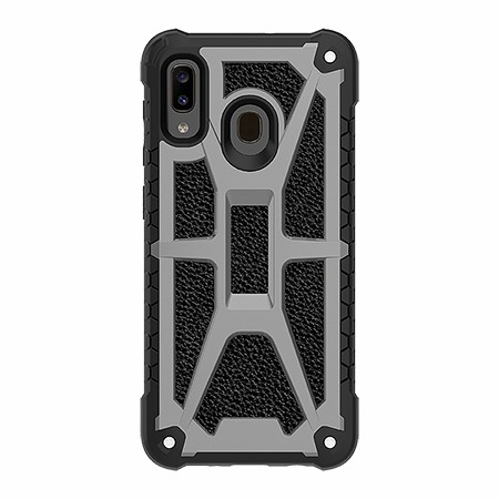 Picture of Supreme Armor Case for Samsung A20, Granite Black