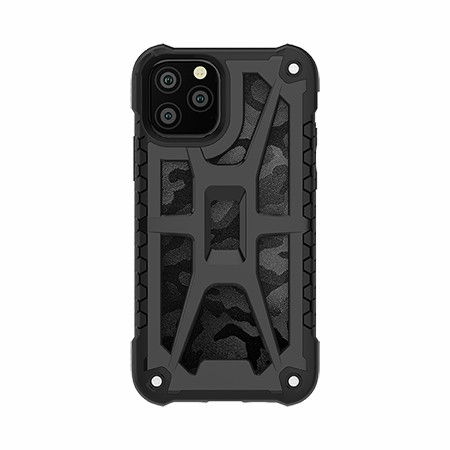 Picture of Supreme Armor Case for iPhone 11 Pro, Black Camo