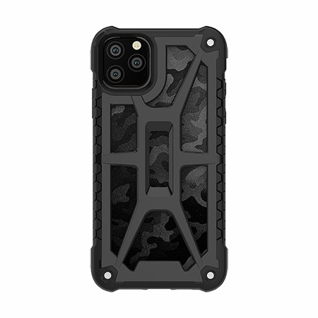 Picture of Supreme Armor Case for iPhone 11 Pro Max, Black Camo