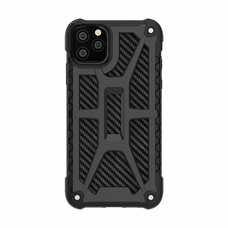 Picture of Supreme Armor Case for iPhone 11 Pro Max, Black Carbon
