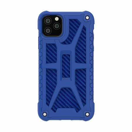 Picture of Supreme Armor Case for iPhone 11 Pro Max, Blue Carbon