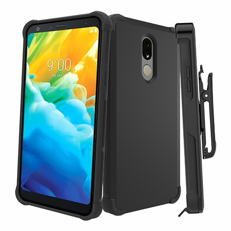 Picture of Secure Impact Case w Holster for LG Stylo 5, Black