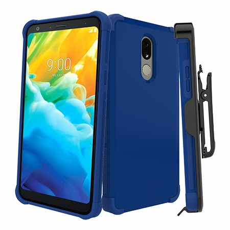 Picture of Secure Impact Case w Holster for LG Stylo 5, Blue