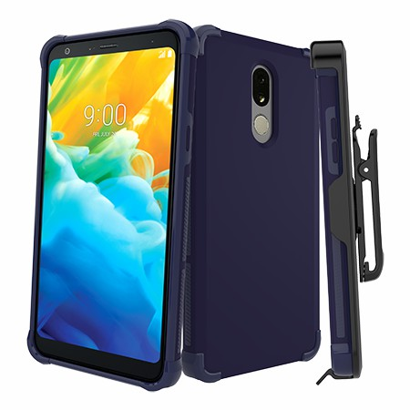 Picture of Secure Impact Case w Holster for LG Stylo 5, Dark Blue