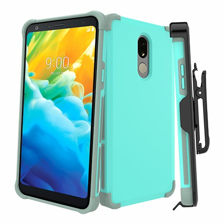 Picture of Secure Impact Case w Holster for LG Stylo 5, Teal