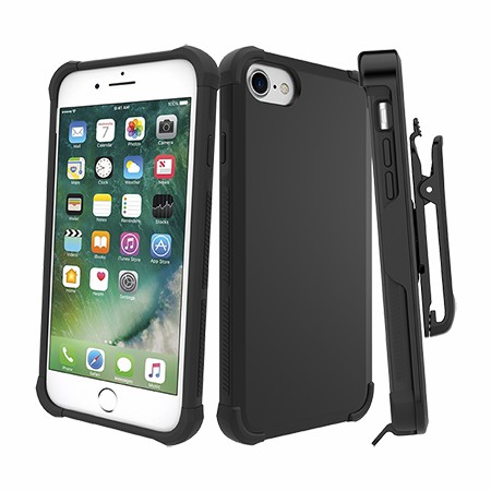 Picture of Secure Impact Case w Holster for iPhone 6s/7/8, Black