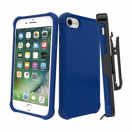 Picture of Secure Impact Case w Holster for iPhone 6s/7/8, Blue