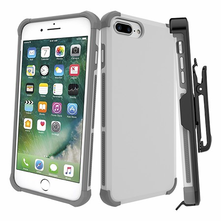 Picture of Secure Impact Case w Holster for iPhone 6s/7/8 Plus, White